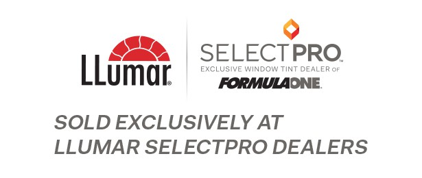 FormulaOne Select Pro by Llumar Window Film sold by Tint Man Winter Park Florida